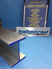 6061 T6 Aluminum I Beam 4 X 170 X 3 X 48 Long