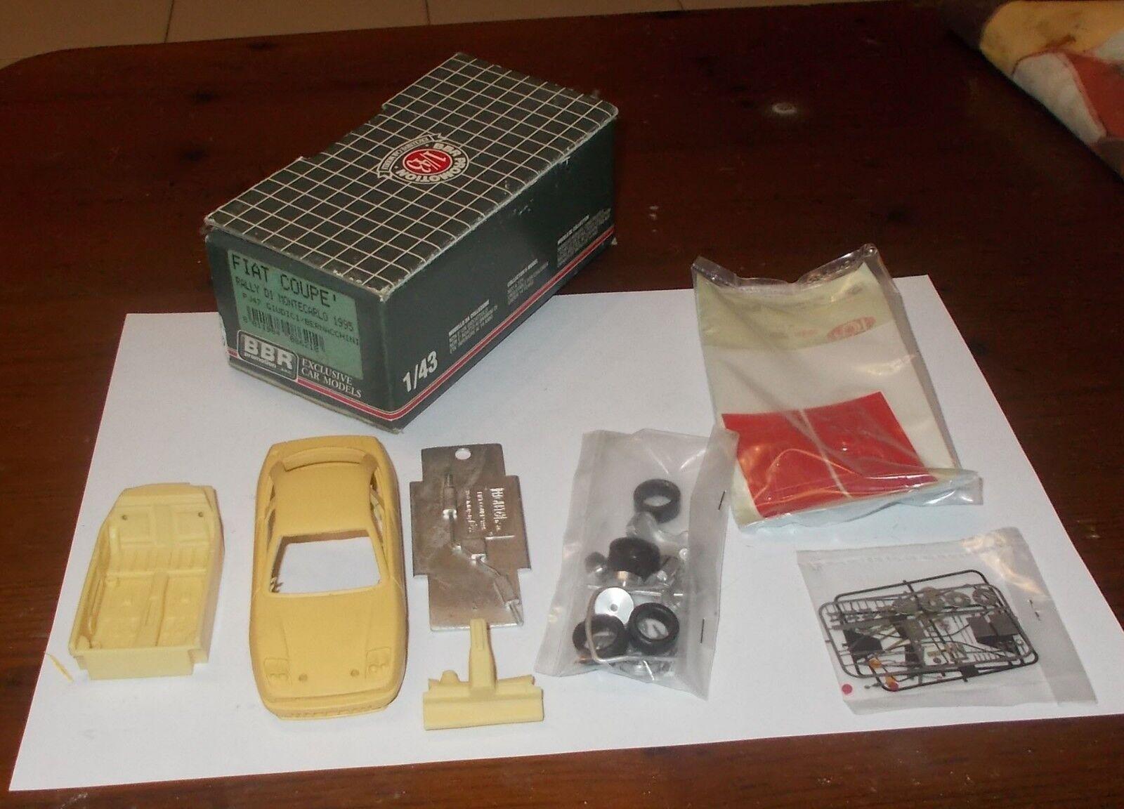 Modell - auto bbr förderung fiat coupé  rally di montecarlo 1995 1 43 meri kits.
