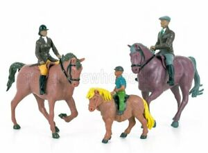 BRITAINS 1/32 ACCESSORIES | HORSES WITH FIGURES | VARIOUS
