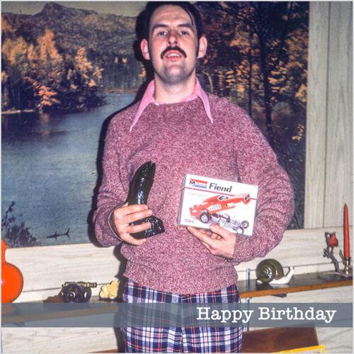 Nostalgic Gifts /& Fashion 1970s Funny Weird Strange Vintage Retro Birthday Card