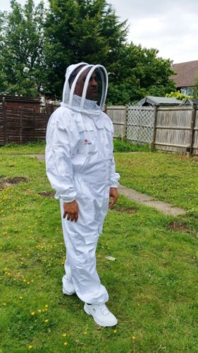 PREMIUM QUALITY Beekeeping suit beekeeper suit bee suit with fencing veil- 2XL