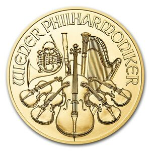 SPECIAL PRICE 2017 Austria 1 oz Gold Philharmonic Coin Brilliant Uncirculated /1422032