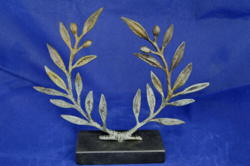"Olive Wreath bronze Kotinos /""The prize/"" for winners in Olympic Games artifact"