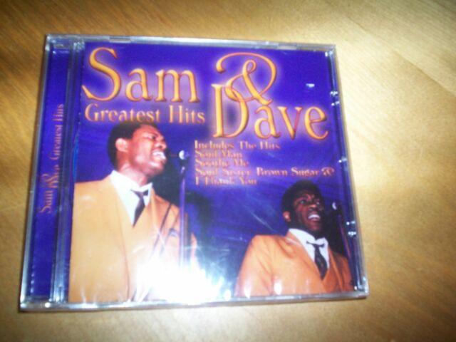 CD sam & dave greatest hits NEW
