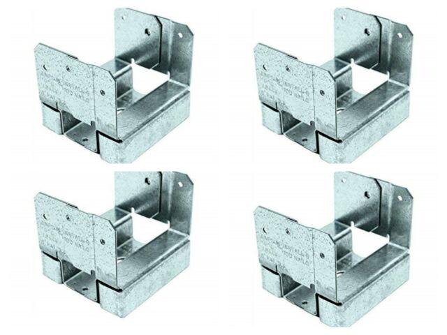 30 Count ABA44Z Simpson 4 x 4 Adjustable Post Base ZMAX