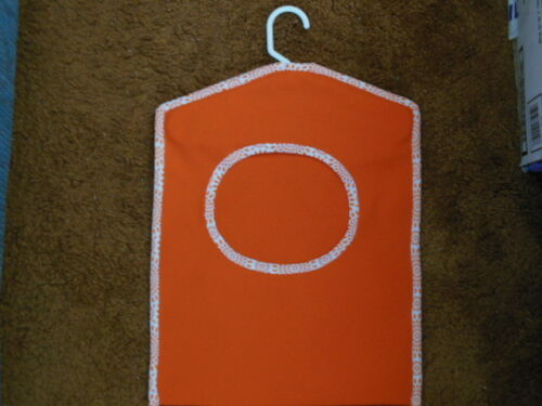 """Sturdy Clothes Pin Bag outdoor fabric 16.5/""""x13/"""""""