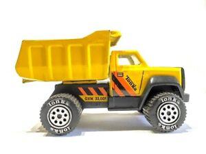 VINTAGE-TONKA-Yellow-Earth-Mover-Dump-Truck-No-1355-G-V-W-33-001-1985
