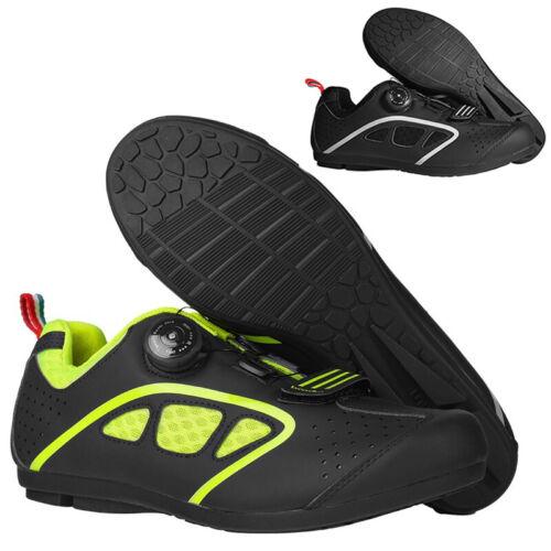 1 Paar MTB Mountainbike Selbstsichernd Fahrrad Schuhe Radsport Fitness Athletik