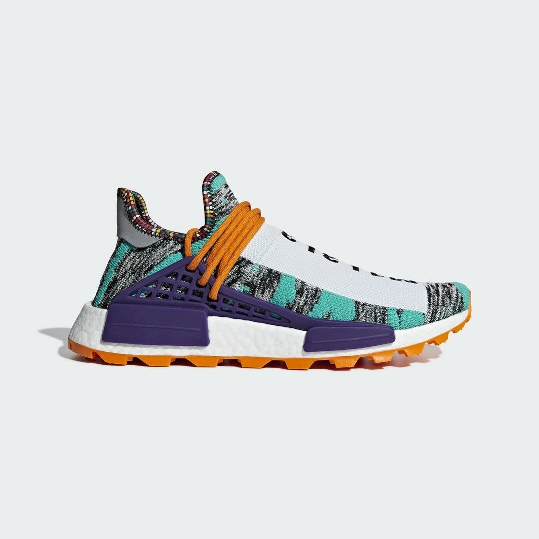Adidas Originals x Pharrell Williams Solar HU NMD Boost orange Limited BB9528