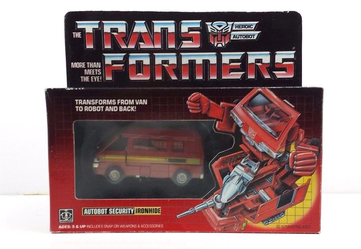 Ironhide G1 Transformer Mint in Sealed Box [MISB]  [IHSB1]