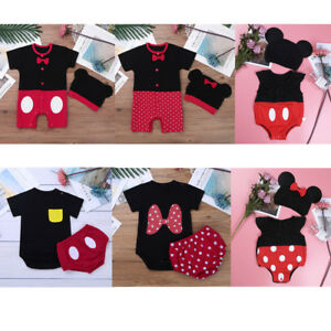 a029e4bd7ce9 Mickey Mouse Baby Boys Girls Costume Minnie Fancy Dress Photography ...
