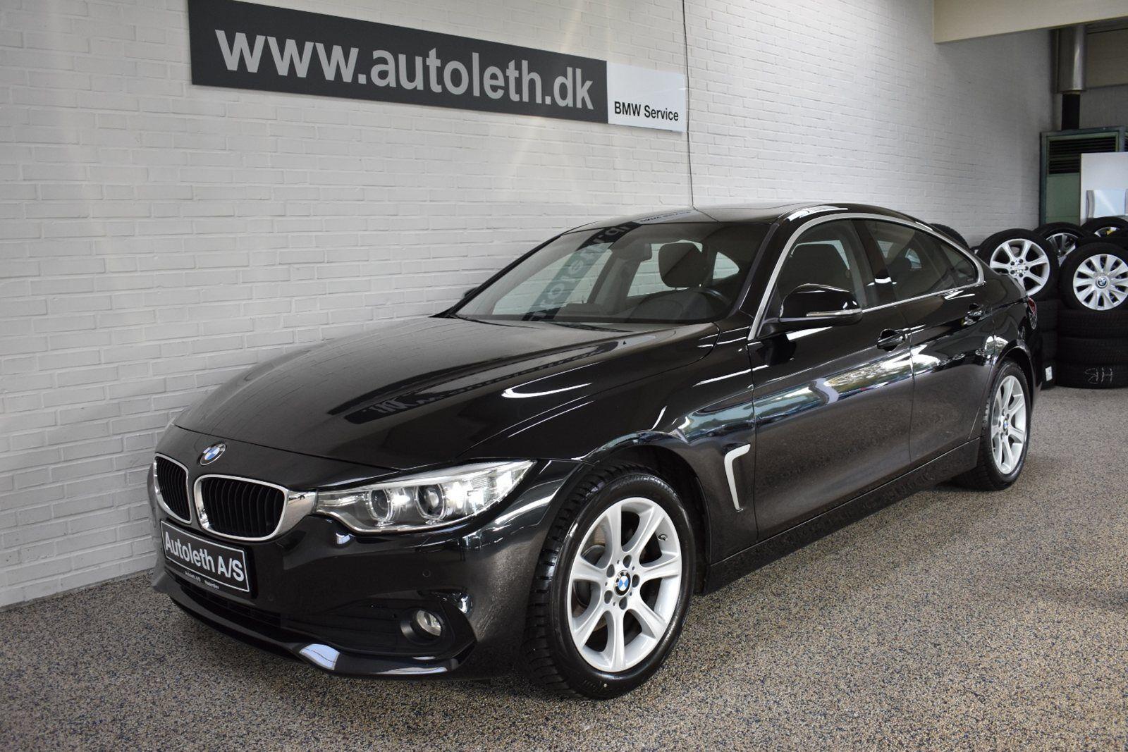 BMW 420d 2,0 Gran Coupé aut. 5d - 389.900 kr.
