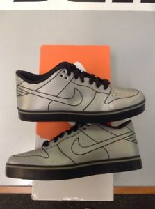 top fashion 04647 add0a Image is loading Nike-Dunk-SE-6-0-Delorean-DMC-Size-