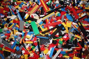 Veritable-LEGO-pieces-en-Vrac-Lot-de-1kg