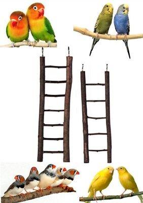 Trix-ie Natural Wooden 5 /& 7 Rung Bird Ladder Budgie Canary Finch Lovebirds Cockatiels 5 Rungs
