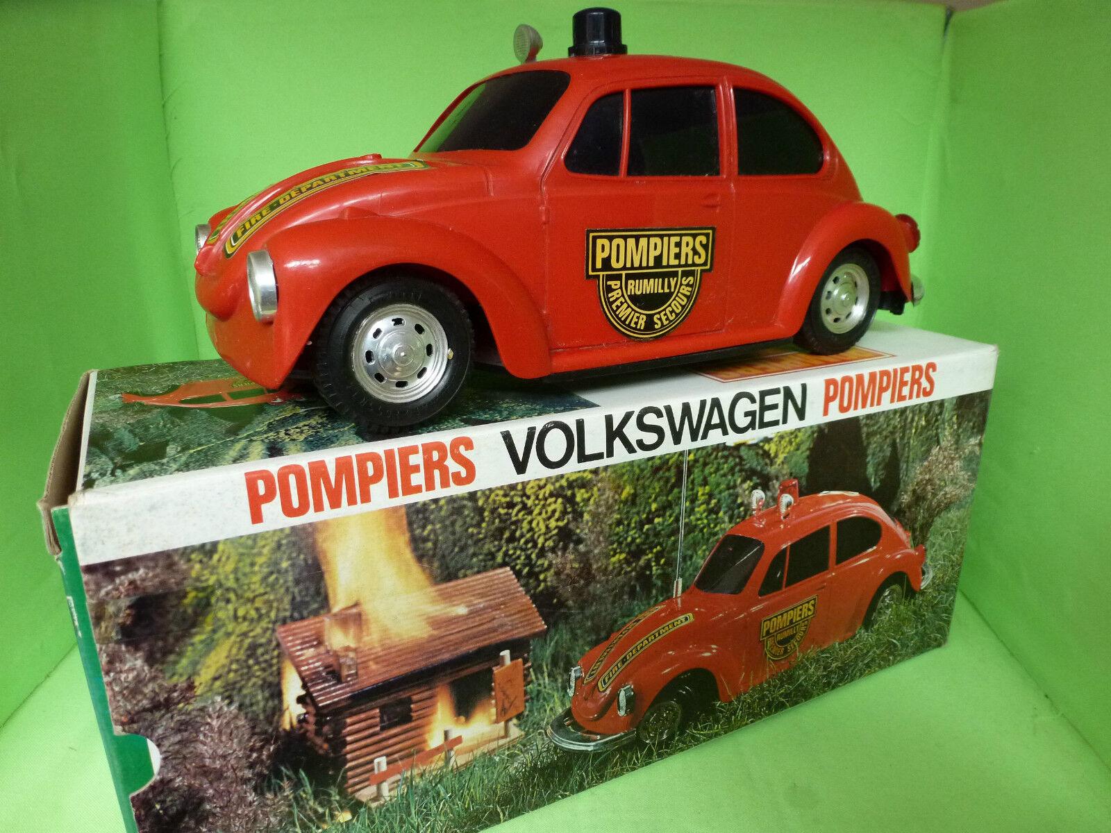 REEL 234 VW VOLKSWAGEN KAFER BEETLE - POMPIERS FIRE DEPARTMENT -  GOOD CONDITION
