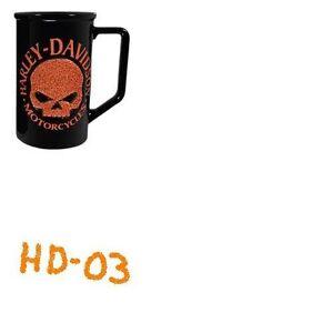 Harley Skull Travel Mug