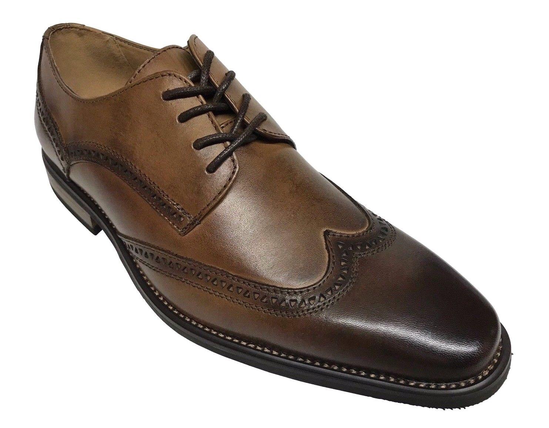 in cerca di agente di vendita La Milano Uomo Oxford Wing Tip Tip Tip Whisky Leather Dress scarpe A11577  grandi prezzi scontati
