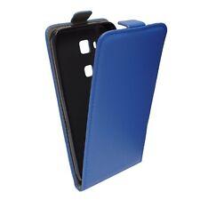 % FLEXI Handy Tasche Hülle Cover Blau r Schutzhülle Samsung Galaxy Ace NXT