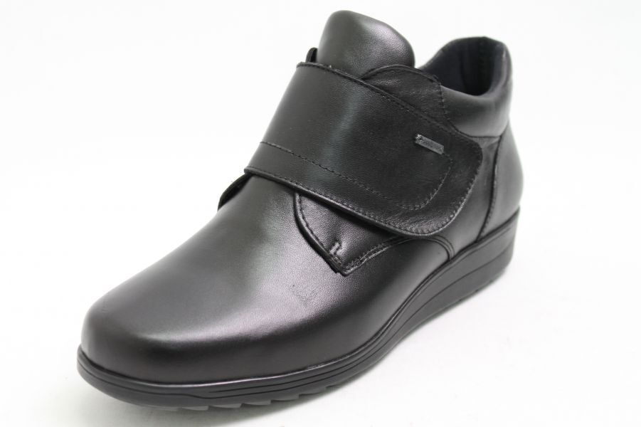 Ara Schuhe schwarz Leder Gore-Tex Schuhweite Schuhweite Gore-Tex H Klettverschluss e021e4