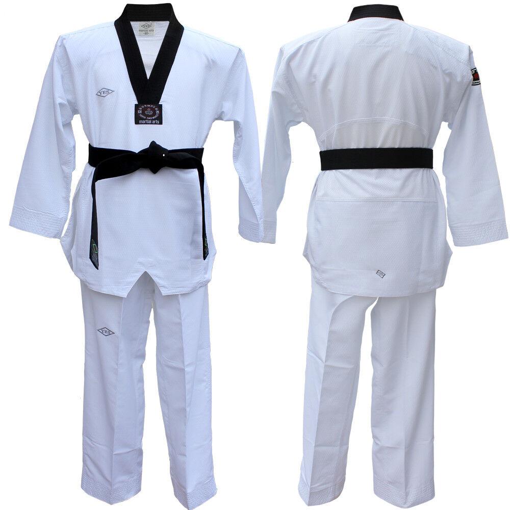 YES New fighter taekwondo dobok TaeKwonDo uniform Taekwondo Gis Fighter uniform