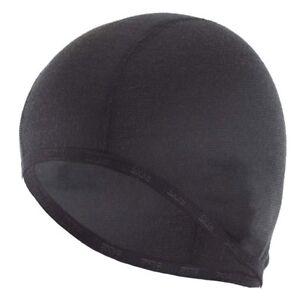 All Season Helmet Liner Base Layer Skull Cap Motorcycle Biker Bandana Black Grey