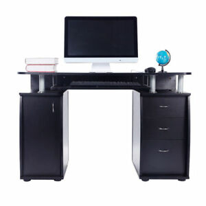 Exceptionnel Techni Mobili Super Storage Computer Desk Espresso