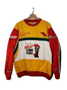 RARE VTG Chase Authentics Mens (M) Kelloggs Terry Labonte Racing Sweatshirt MINT