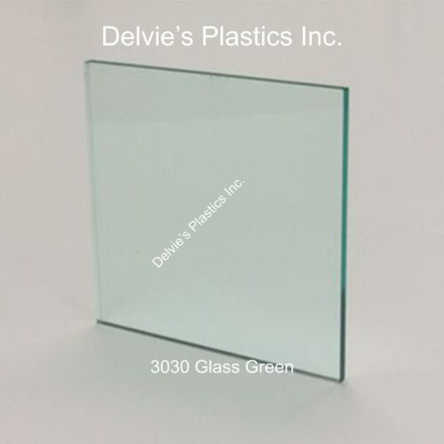 "5 Sheets 1//8/""  3030 Transp Glass Green Cell Cast Acrylic Plexiglass  12 x 12"