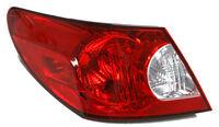 Replacement Taillight Assembly Lh / For 2007-08 Chrysler Sebring 4-dr Sedan