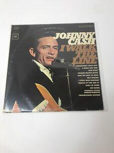 1964-JOHNNY-CASH-I-Walk-The-Line-Vinyl-LP-Album-Columbia-Records-CS-8990