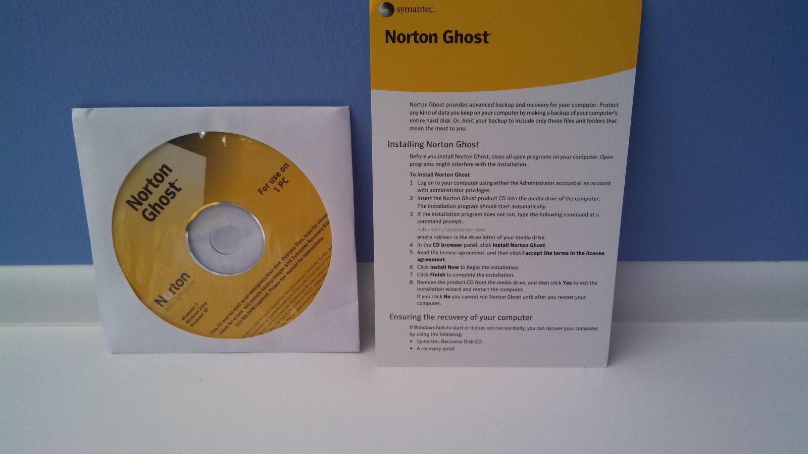 Norton Ghost 15 15 0 Full Version CD & Product Key