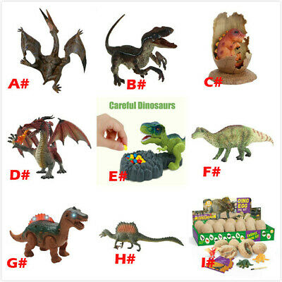 12X Gift Educational Simulated Dinosaur Model Toy Games For Adults Kids Child AN