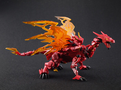 IronFactory IF EX-42 Heatdeath Transformable Red Dragon New