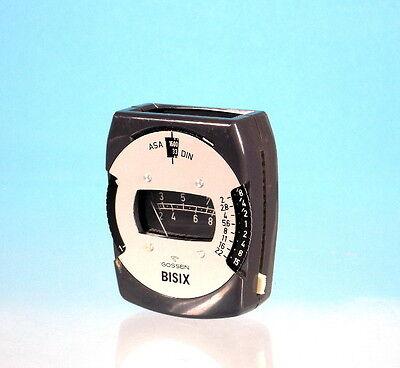 Foto & Camcorder Einfach Gossen Bisix Belichtungsmesser Light Meter Posemètre 15531 Fotostudio-zubehör