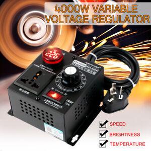 4000W-AC220V-SCR-Eletronic-Variable-Voltage-Regulator-Thyristor-Speed-Controller