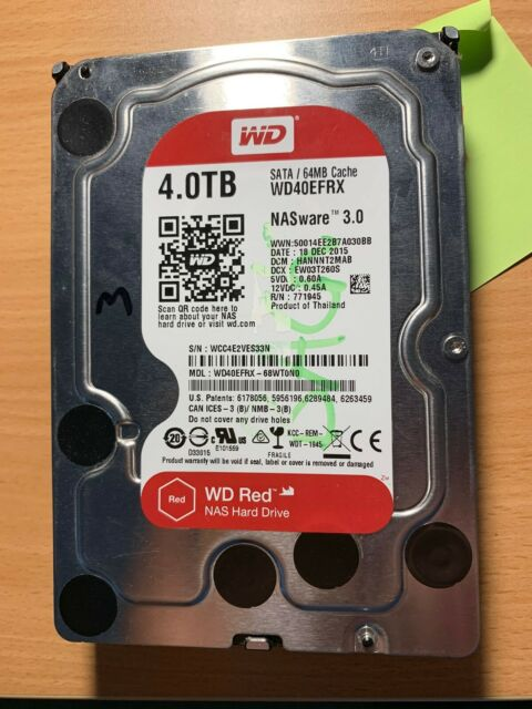 WD Red 4TB Intellipower Hard Drive for sale online | eBay