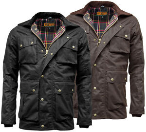 Men S Game Utilitas Waxed Cotton Wax Jacket Utility Muliti