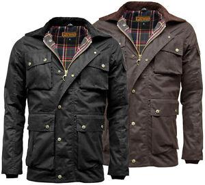 Men S Game Utilitas Waxed Cotton Wax Jacket Utility Muliti