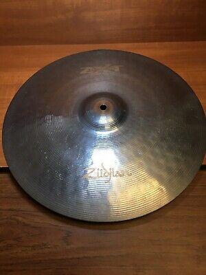 zildjian 16 inch zxt titanium medium thin crash cymbal cracked 642388188651 ebay. Black Bedroom Furniture Sets. Home Design Ideas