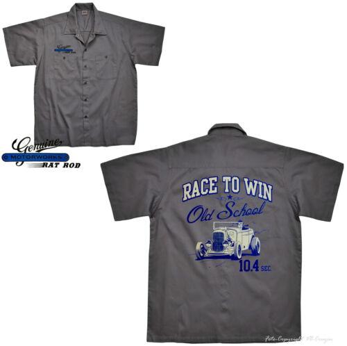 * Hemd Worker Shirt  Hot Rod  Automotiv racing Design *1060