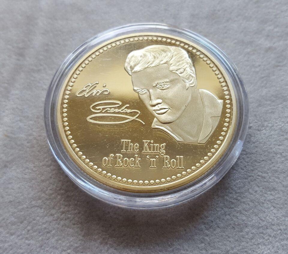 Andre samleobjekter, Elvis medalje
