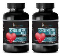 Black Garlic Seeds - Cholesterol Relief Formula - Pain Relieving - 2 Bottles