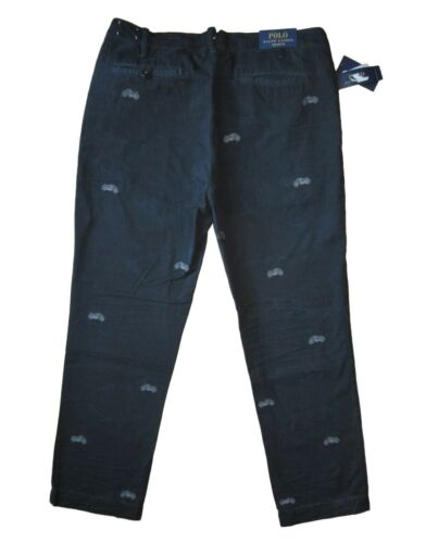 Polo Ralph Lauren Straight Fit Embroidered Chino Pants in Size 32,33,34,36,38