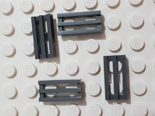 4204 Placa de construcción de placa base LEGO Grueso Pernos de 8 X 16 gris oscuro-original
