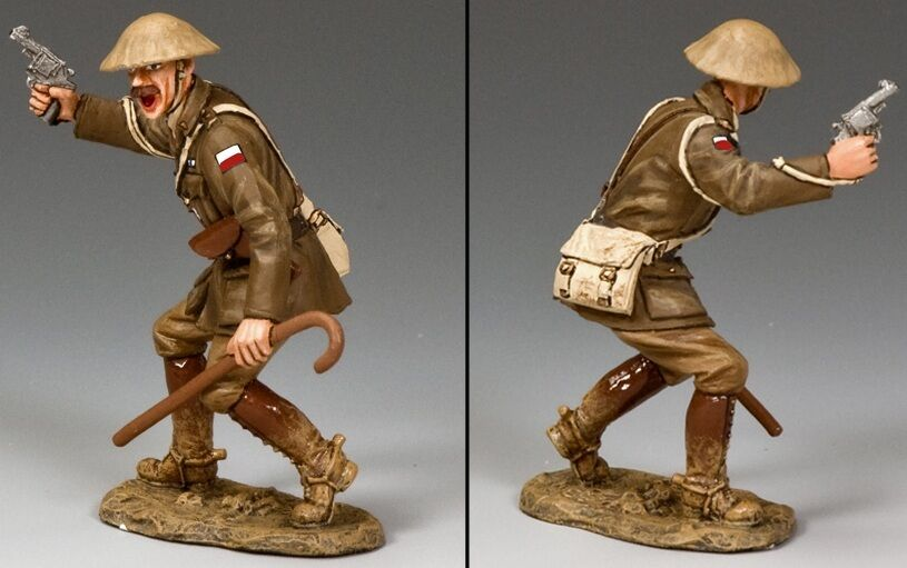 KING & COUNTRY FIRST WAR FW189V AUSTRALIAN VICTORIA 8TH INFANTRY OFFICER MIB