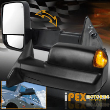 2013-2015 Dodge Ram HEAT/ LED Signals / Power /LED Puddle Light Tow Side Mirrors