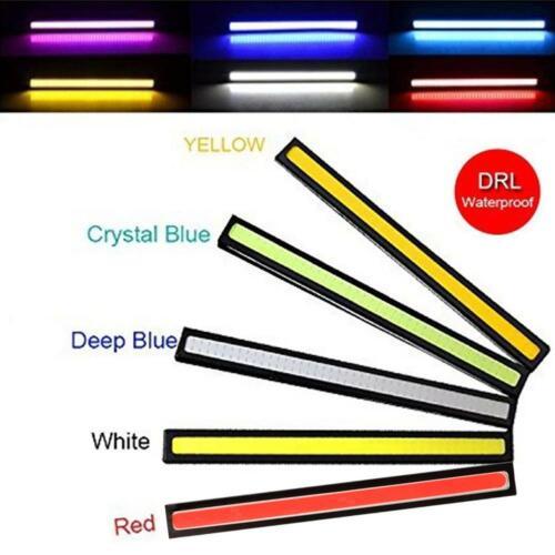 2PCS Waterproof 17cm COB Car LED Lights 12V For DRL Fog Light Driving Lamp Best