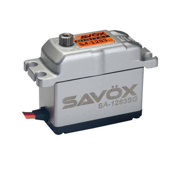 Savox Radio Radio Radio Contrôle numérique de couple élevé 30kg haute fréquence servo alu cas sa1283sg dc5044