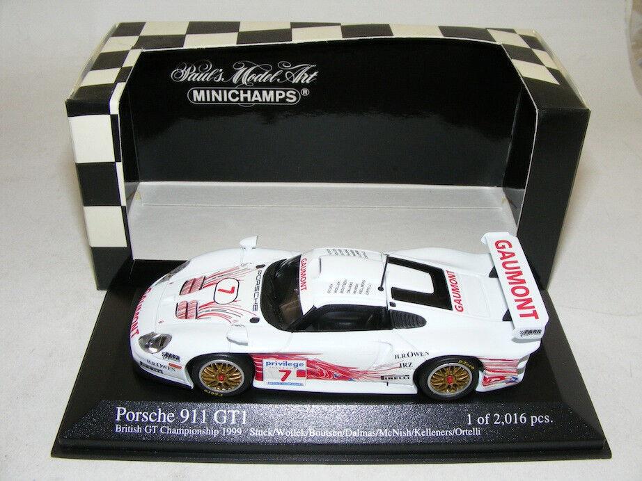 Minichamps Porsche 911 GT1 1999 British Championship car  7